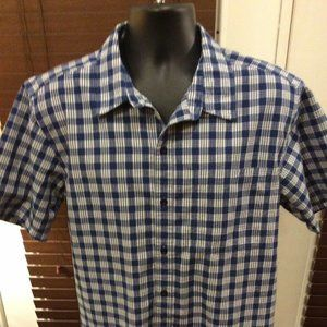 Men's Patagonia Organic Cotton Button Shirt Large